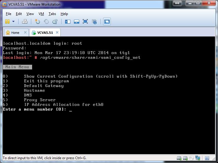 vami_config_net script