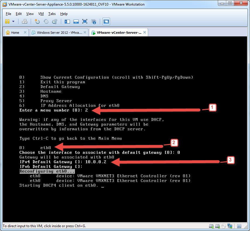 Step-by-Step Guide – vCenter Appliance 5 5 Installation