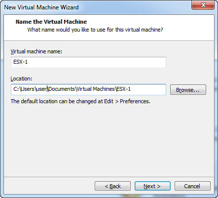 Set-Up Virtual Machine in VMware Workstation - Load Image
